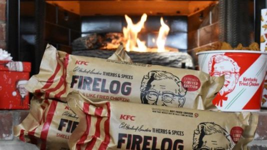 KFC Is Selling Fireplace Logs That Smell Like Fried Chicken And Yes, Please