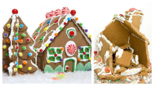 How To Build A Gingerbread House In 36 'Easy' Steps