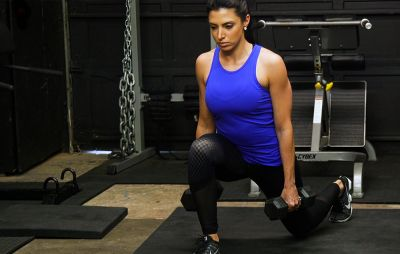 How to Modify Your Lunges For Greater Glute Gains