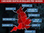 Coronavirus UK: One in 20 London care home residents have died