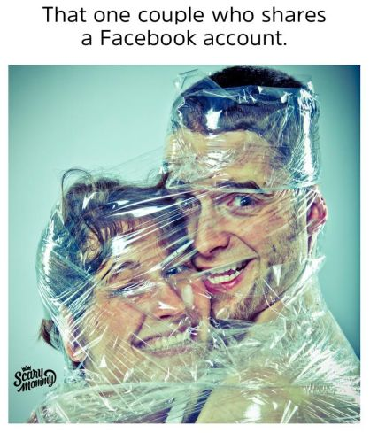 To The Couples Who Share A Facebook Account, We Have Questions