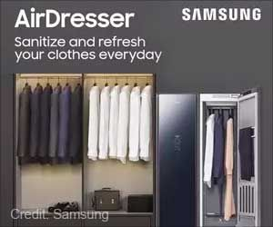 AirDresser Launched by Samsung Claims to Kill 99.9% Bacteria
