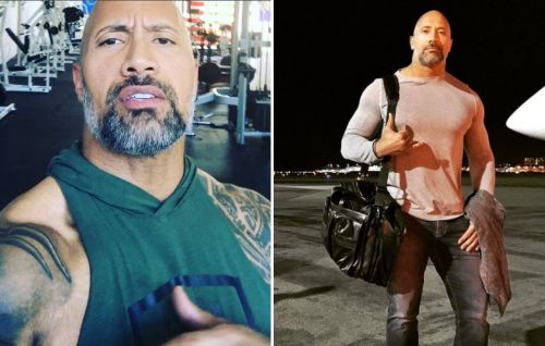 "Dwayne ""The Rock"" Johnson Expertly Demonstrates How to Pull Off a Gray Beard"