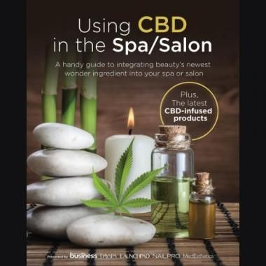 Using CBD in the Salon/Spa - Free eBook