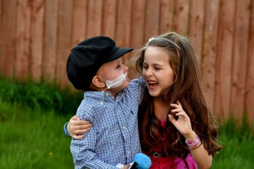 Six-year-old girl donates bone marrow to save baby brother's life