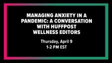 Struggling With Coronavirus Anxiety? Join Us For A Virtual Forum On Coping With Stress