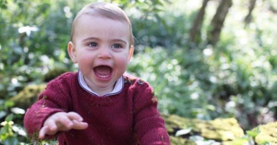 Kate's Pics Of Baby Louis On His 1st Birthday Are Adorable