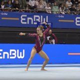This Gymnast Did an Entire Harry Potter Floor Routine - Her Imaginary Wand Is Everything!
