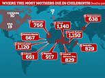 A mother or baby dies in childbirth every 11 SECONDS, UNICEF report reveals