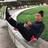 Jeanette Jenkins Demonstrates How to Turn Your Pup Into Your Workout Partner