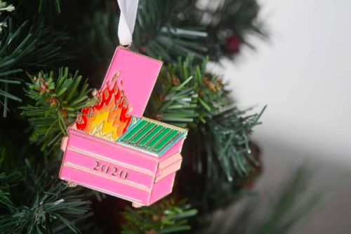 Your 2020 Tree Needs This Dumpster Fire Ornament