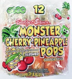 3,000 cases of fruit-flavored ice pops recalled for Listeria risk