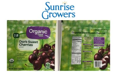 Walmart's Great Value frozen cherries recalled for listeria risk