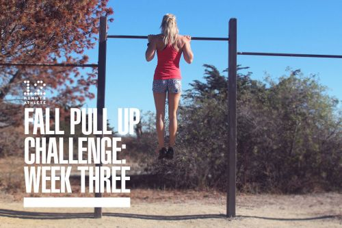 Fall Pull Up Challenge: Week 3
