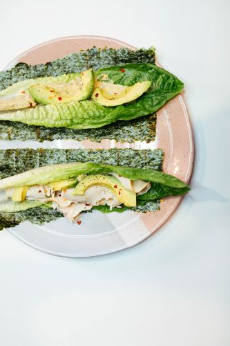 Turkey Avocado Greens Wrap