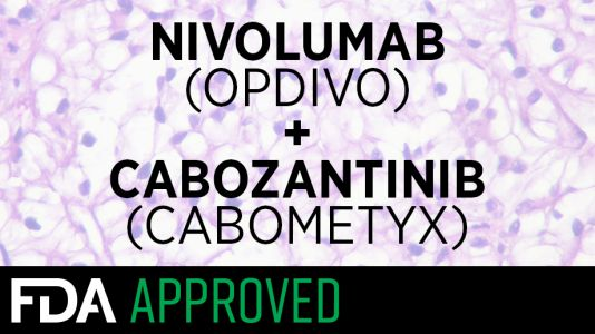 FDA approves first-line Opdivo-Cabometyx regimen for advanced renal cell carcinoma