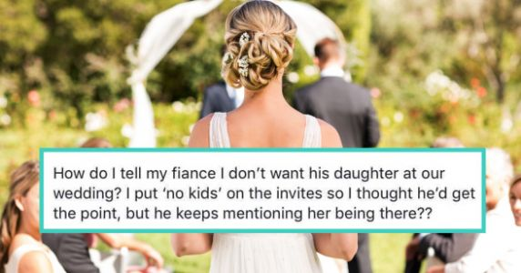 Bridezilla Tries To Exclude Fiancé's 3-Year-Old From Wedding