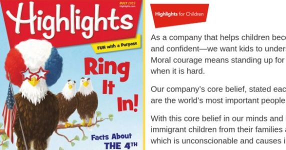 Highlights Magazine Denounces Trump's Family Separation Policy In Powerful Statement