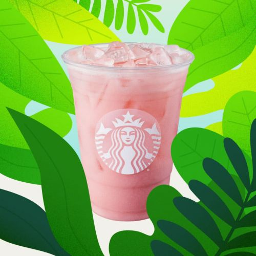 Starbucks' New Iced Guava Passionfruit Drink Is A Dairy-Free Summer Dream