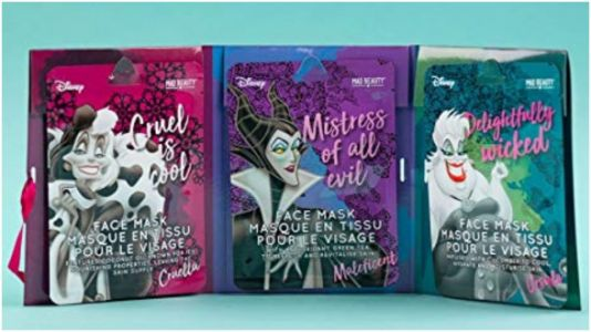 These Disney Villain Sheet Masks Will Give You A Wicked Glow