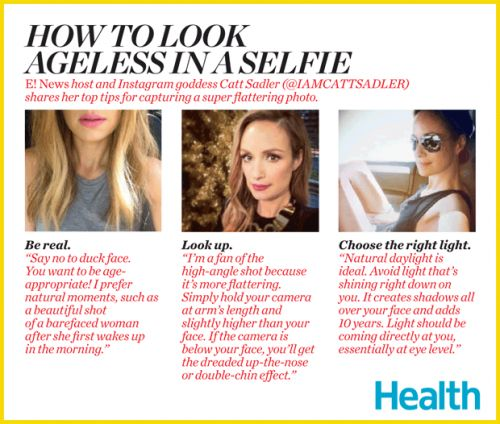3 Tricks for Looking Ageless in a Selfie