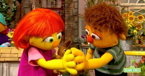 Sesame Street Teaches 'How To Hug' Kids With Autism