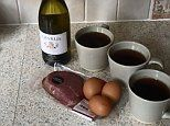 The bizarre 1977 'wine and eggs' diet that promised Vogue readers a drop of 5 pounds in 3 days