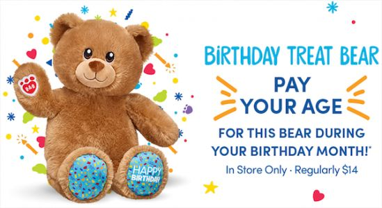 Build-A-Bear Comes Up With Perfect Solution For 'Pay Your Age' Day Fail