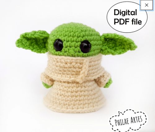 You Can Crochet Your Very Own Baby Yoda