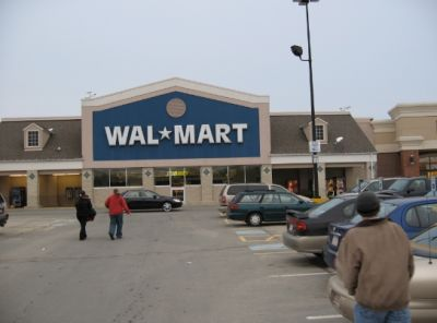 Walmart to unveil SEDENTARY shopping where you don't even have to walk the store. flying DRONES bring all the products to your basket