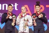 2 For Team USA: Gymnasts Leanne Wong and Kayla DiCello Both Medal in World All-Around Competition