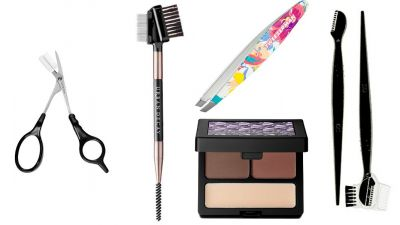 Essentials To Beat, Tweeze And Tame Your Own Brows At Home