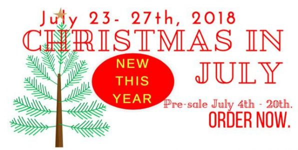 Christmas In July Pre-Sale