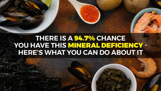 There is a 94.7% chance you have this mineral deficiency - here's what you can do about it