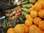 Just 10% of Americans eat enough fruit and vegetables