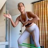 Tracee Ellis Ross Shows Off Strength, Stability, and Sneaker Style During a Challenging Workout