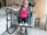 Mother from Kent has both legs amputated after mistaking meningitis for her drink being spiked