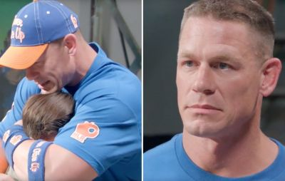 Watch John Cena Tear Up From the Ultimate Surprise By His Fans