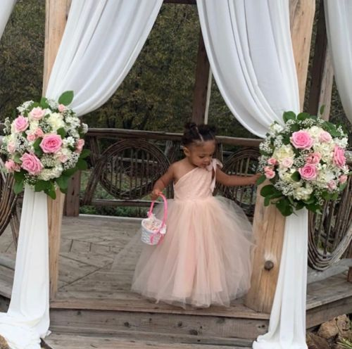 Serena Williams Shares Sweet Photos Of Her Daughter On Flower Girl Duty