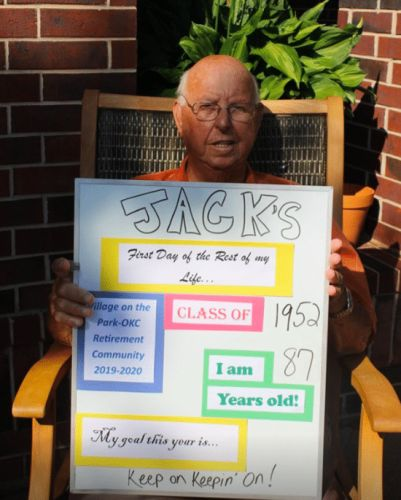 Senior Living Center Posts Heartwarming 'Back-To-School' Photos Of Residents