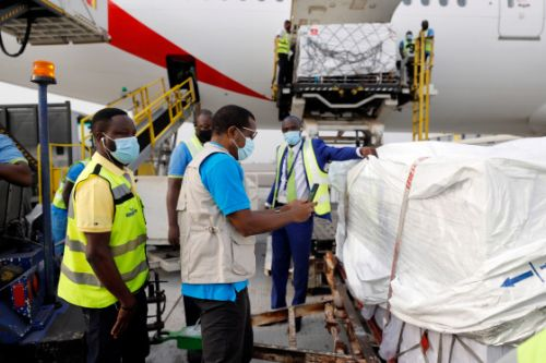 Ghana Receives World's First Coronavirus Vaccine Delivery from COVAX