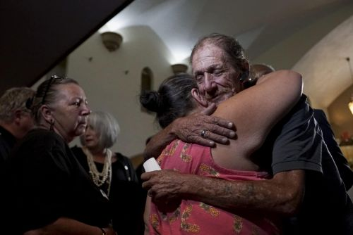 Husband Worried Nobody Would Show Up For His El Paso Shooting Victim Wife's Funeral Surprised By Over 1,000 Strangers