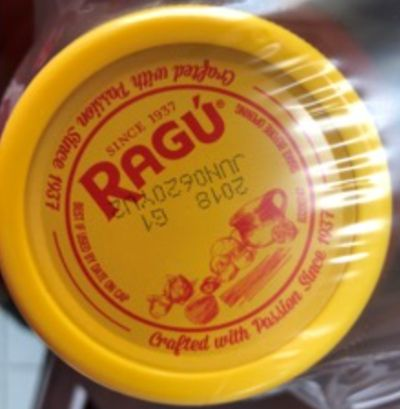 Some Ragú pasta sauces recalled because of fragments of plastic