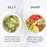 What You Should Be Adding to Your Salads to Feel Full, According to a Dietitian