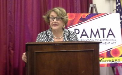 Her office confirms the death of Rep. Louise Slaughter at age 88