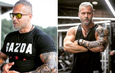This Man's White Hair and Chiseled Physique Has Everyone Baffled By His Age