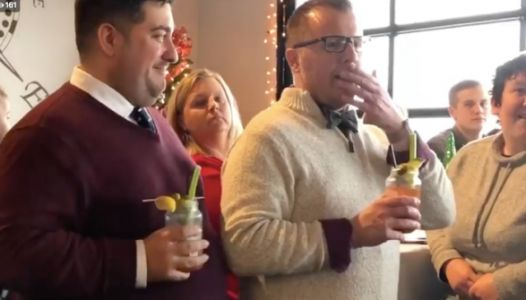 Student Chorus Surprise Serenades Their Teacher And His Husband-To-Be