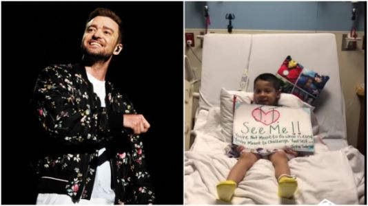 Justin Timberlake Responds To Children's Hospital Viral Video - By Surprising Kids Who Made It