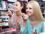 Make-up testers carry herpes and salmonella