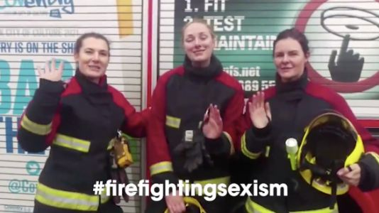 Female Firefighters Make Video To Show Little Girl She Can Become One Too